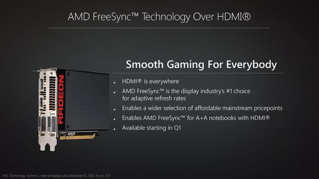 AMD FreeSync - monitory z HDMI
