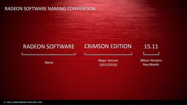 AMD Radeon Software - nowy system oznaczeń sterowników