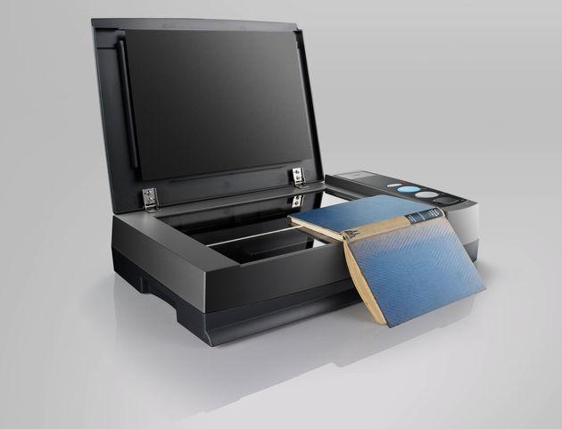 Plustek OpticBook 3900 skaner