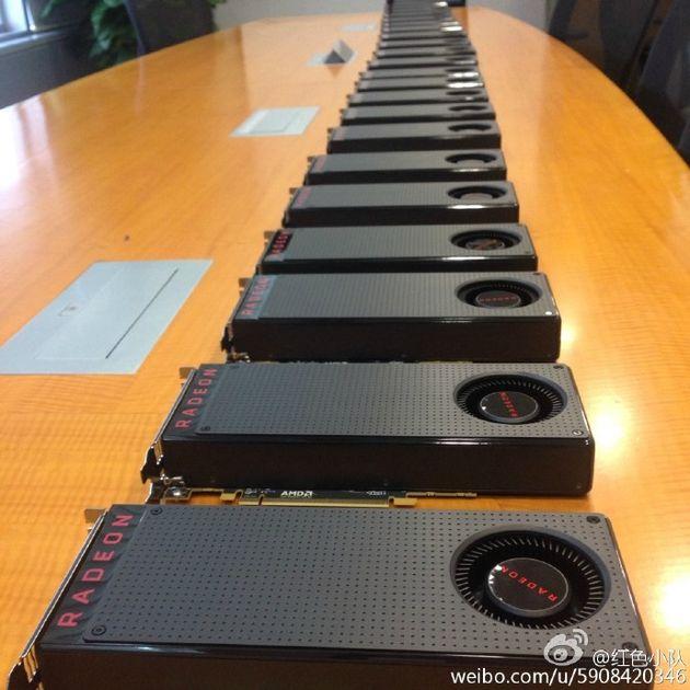 AMD Radeon RX 480 karty graficzne