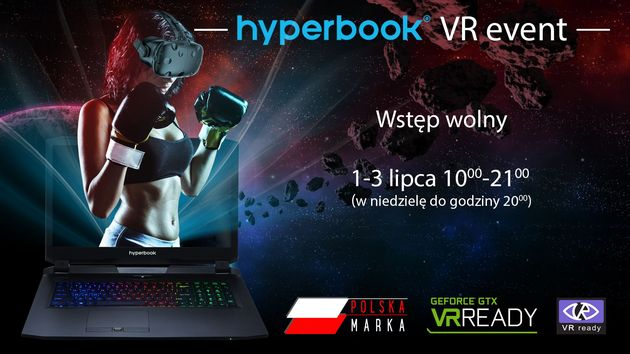 Hyperbook VR Ready Event 2.0