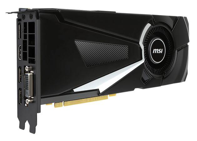 MSI GeForce GTX 1070 Aero karta graficzna