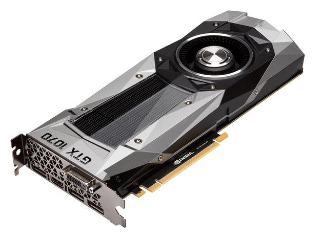 MSI GeForce GTX 1070 Founders Edition karta graficzna