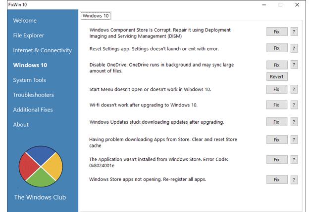 Niedziałające menu start w Windows 10 i rozwiązanie na 20 innych problemów