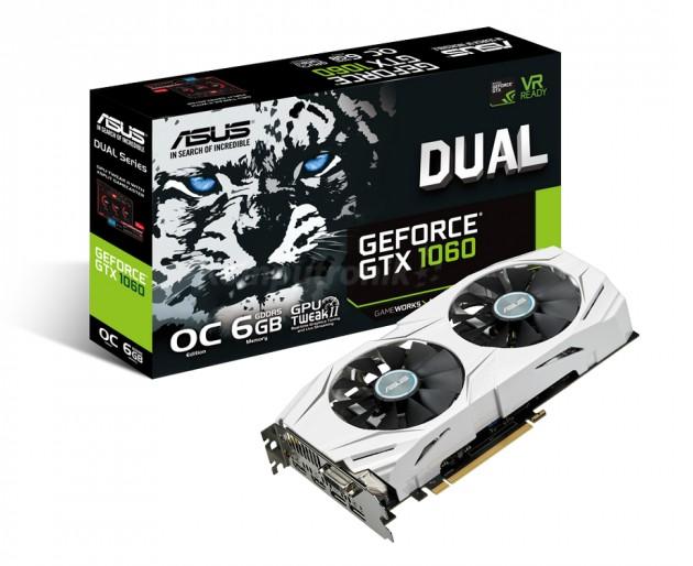 ASUS GeForce GTX 1060 Dual OC karta graficzna