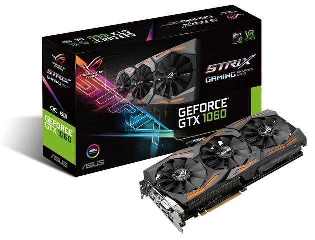 ASUS GeForce GTX 1060 Strix OC karta graficzna
