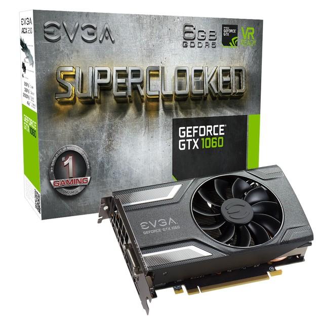 EVGA GeForce GTX 1060 Gaming SC karta graficzna