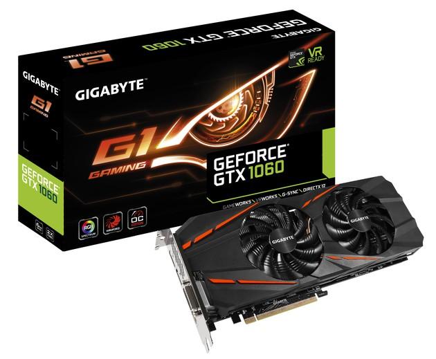 Gigabyte GeForce GTX 1060 G1 Gaming karta graficzna