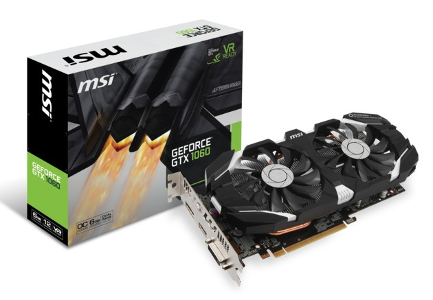 MSI GeForce GTX 1060 OC karta graficzna