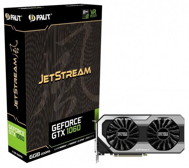Palit GeForce GTX 1060 JetStream karta graficzna