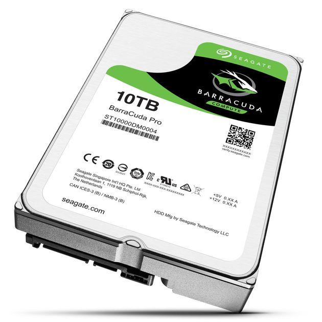 Seagate BarraCuda Pro 10 TB dysk twardy HDD
