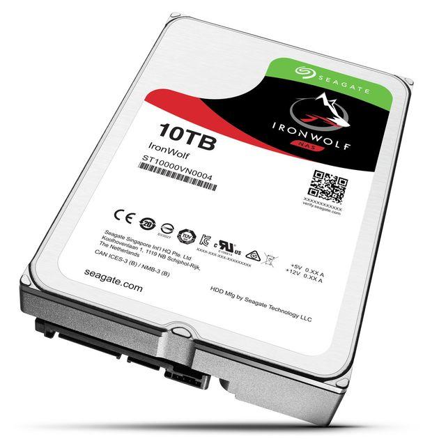 Seagate IronWolf 10 TB dysk twardy HDD