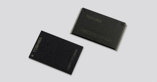Toshiba BiCS3 NAND
