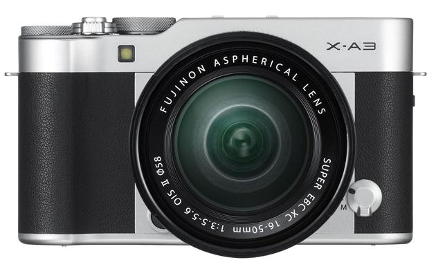 Fujifilm X-A3 obiektyw 16-50