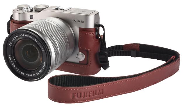 Fujifilm X-A3 pasek retro