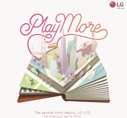 LG V20 poznamy 6 września