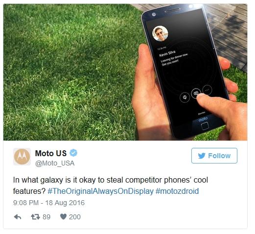 Motorola posądza Samsunga o kradzież