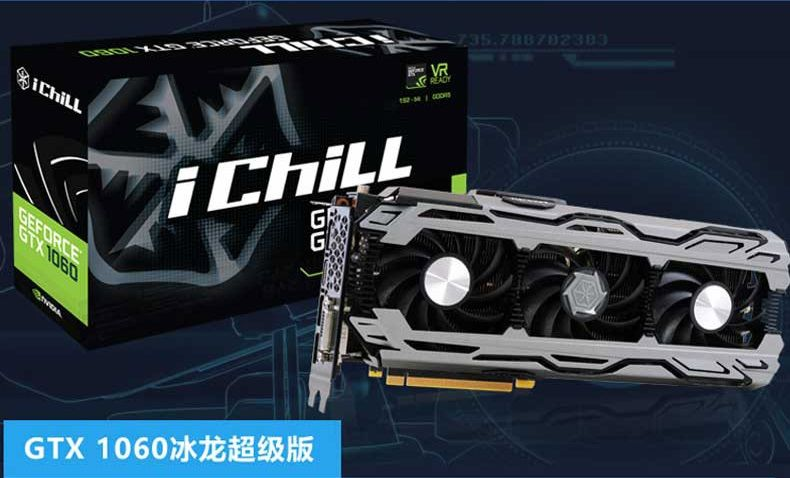 Inno3D GeForce GTX 1060 Herkulez X3 Air Boss karta graficzna