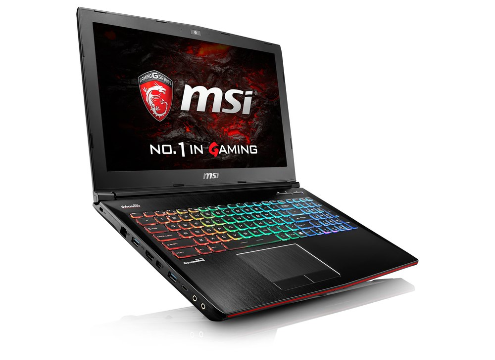 MSI GE62VR laptop