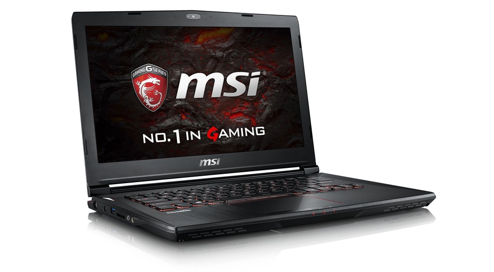 MSI GS43VR laptop