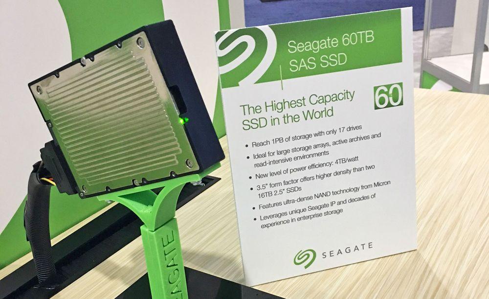 Seagate - dysk SSD 60 TB