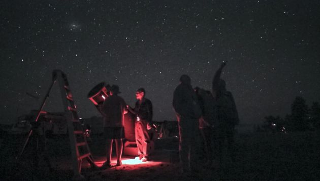 Film z obozu astronomicznego