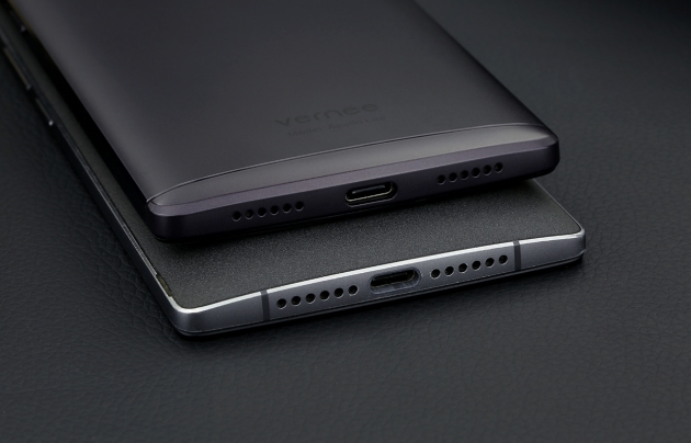 Vernee Apollo Lite Space Grey złacze USB