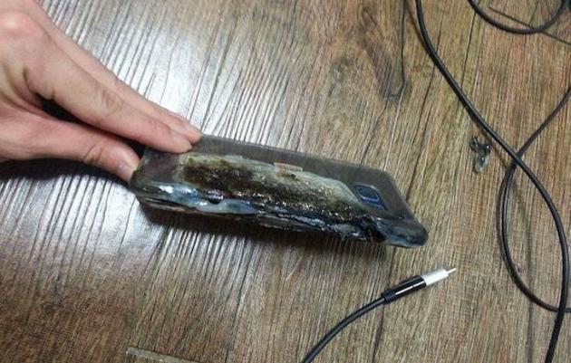 Galaxy Note 7 z wadliwymi bateriami
