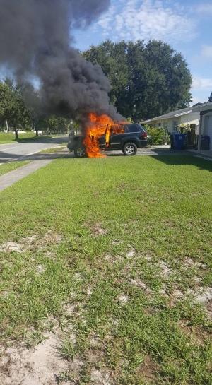 Galaxy Note 7 przyczyną pożaru