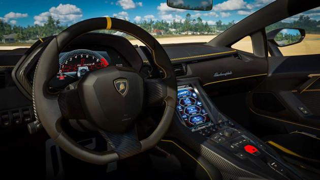 Forza Horizon 3 wnętrze