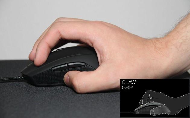 Mionix claw