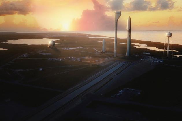 SpaceX kosmodrom