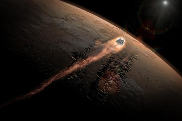 SpaceX Mars kapsuła