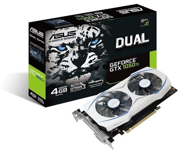 ASUS GeForce GTX 1050 Ti Dual karta graficzna