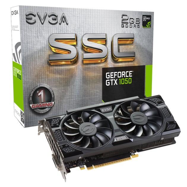 EVGA GeForce GTX 1050 SSC karta graficzna