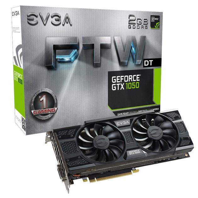 EVGA GeForce GTX 1050 FTW DT karta graficzna