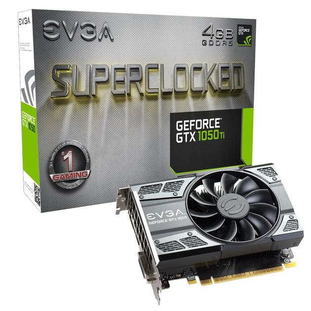 EVGA GeForce GTX 1050 Ti SC karta graficzna
