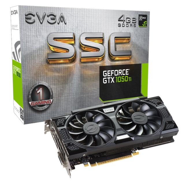 EVGA GeForce GTX 1050 Ti SSC karta graficzna