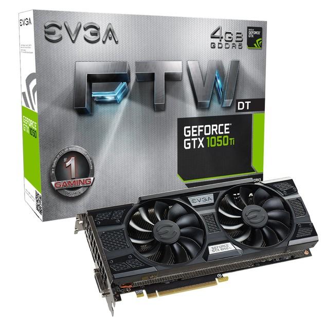 EVGA GeForce GTX 1050 Ti FTW DT karta graficzna