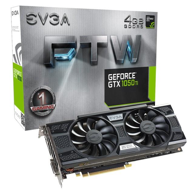EVGA GeForce GTX 1050 Ti FTW karta graficzna