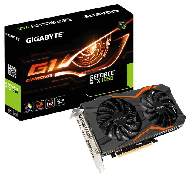 Gigabyte GeForce GTX 1050 G1 Gaming karta graficzna