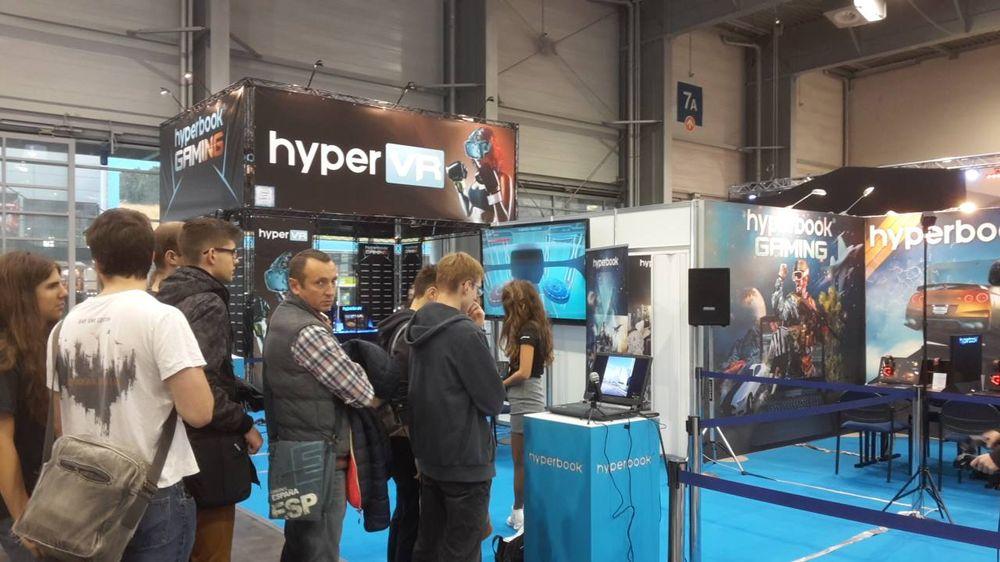 Hyperbook HyperVR - PGA 2016
