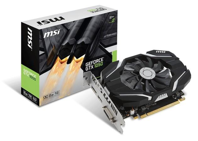 MSI GeForce GTX 1050 2G OC karta graficzna