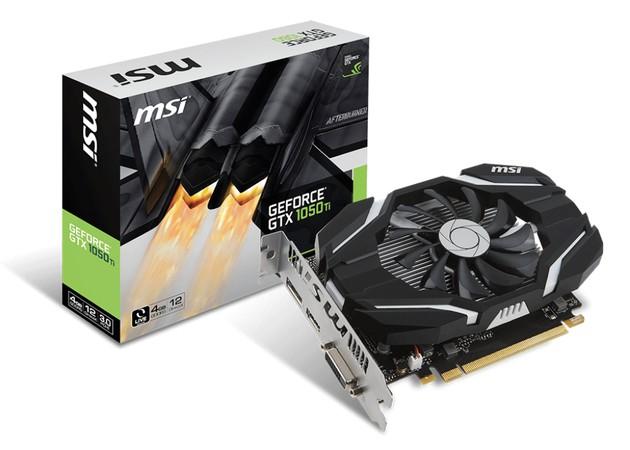 MSI GeForce GTX 1050 Ti 4G karta graficzna