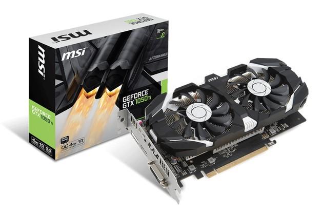 MSI GeForce GTX 1050 Ti 4GT OC karta graficzna