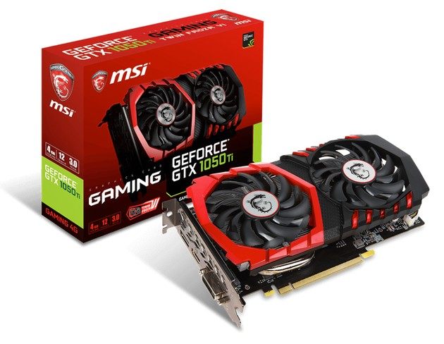 MSI GeForce GTX 1050 Ti Gaming karta graficzna