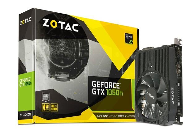 Zotac GeForce GTX 1050 Ti Mini karta graficzna