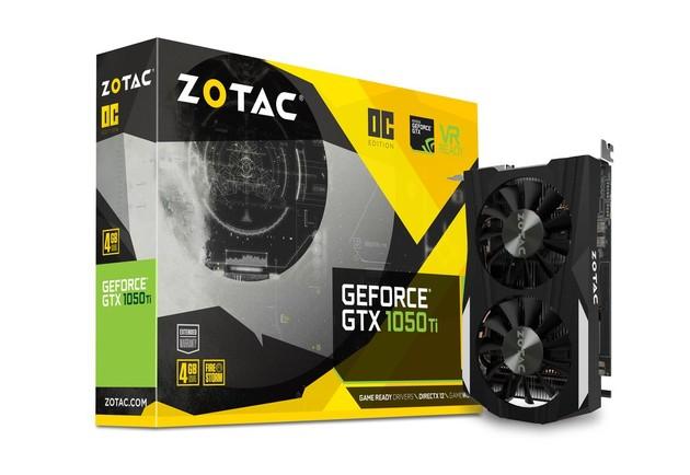Zotac GeForce GTX 1050 Ti OC Edition karta graficzna