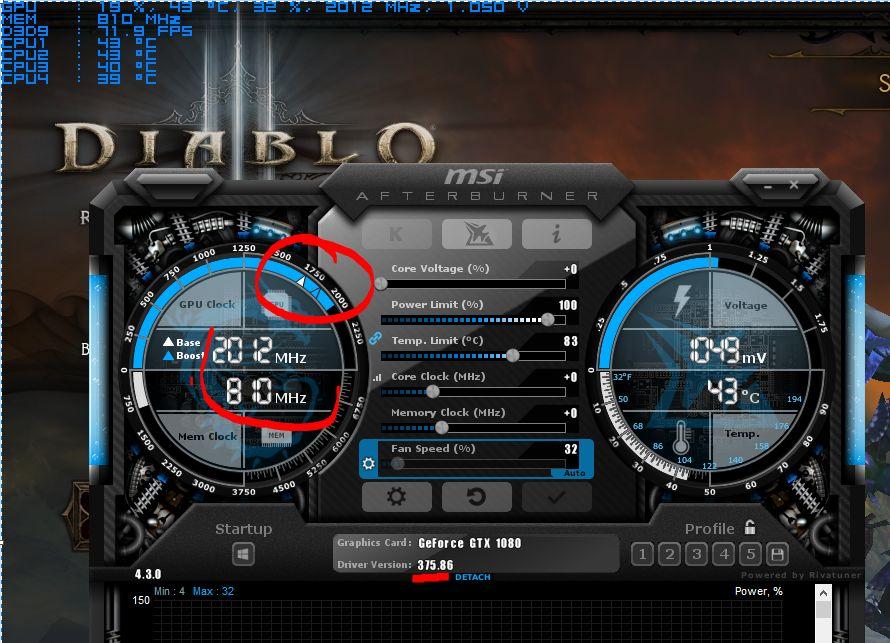 Nvidia GeForce Game Ready Driver 375/86 WHQL - problem