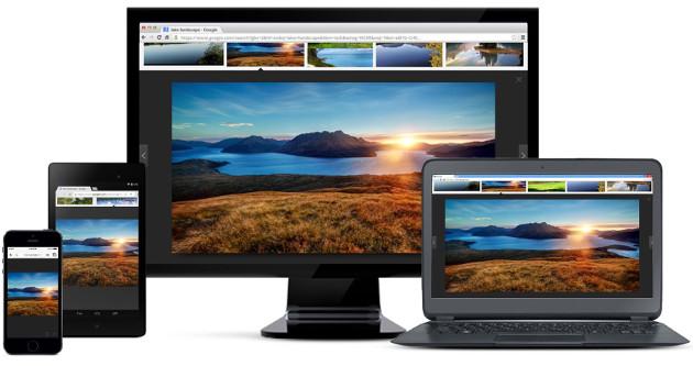 Google Chrome obrazki